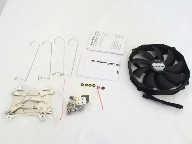 Unboxing & Review: GELID Solutions Antarctica CPU Cooler 58