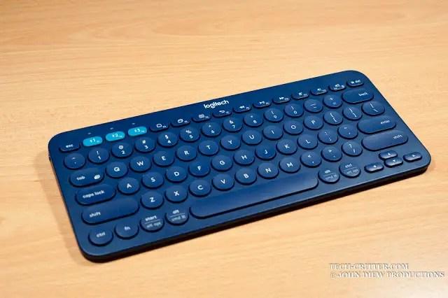 Unboxing & Review: Logitech K380 Bluetooth Multi Device Keyboard 47