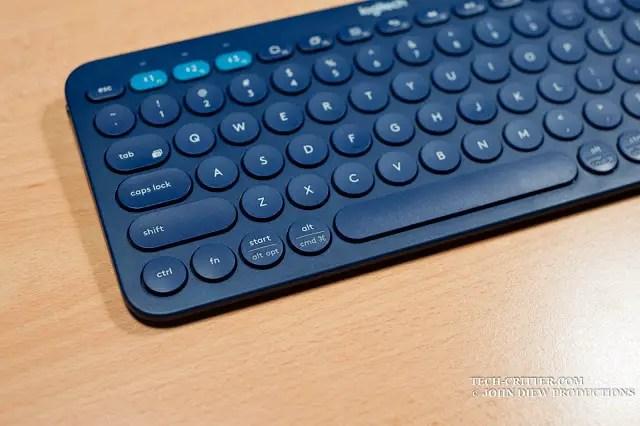 Unboxing & Review: Logitech K380 Bluetooth Multi Device Keyboard 53