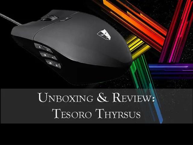 Unboxing & Review: Tesoro Thyrsus Laser Gaming Mouse 43