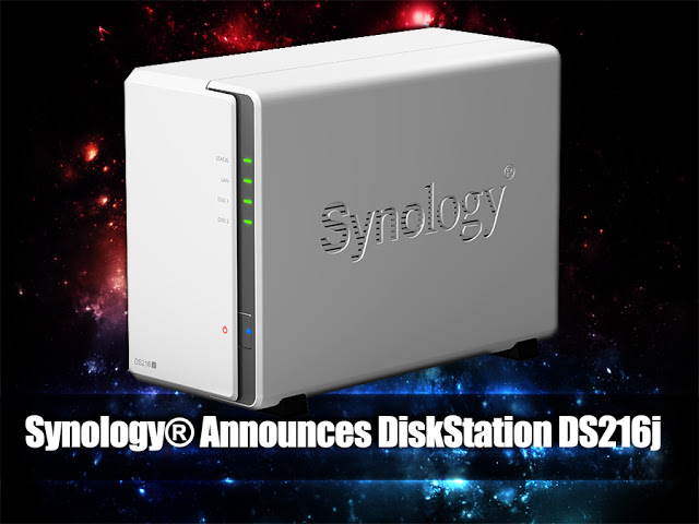 Synology® Announces The Availability of DiskStation DS216j NAS 13