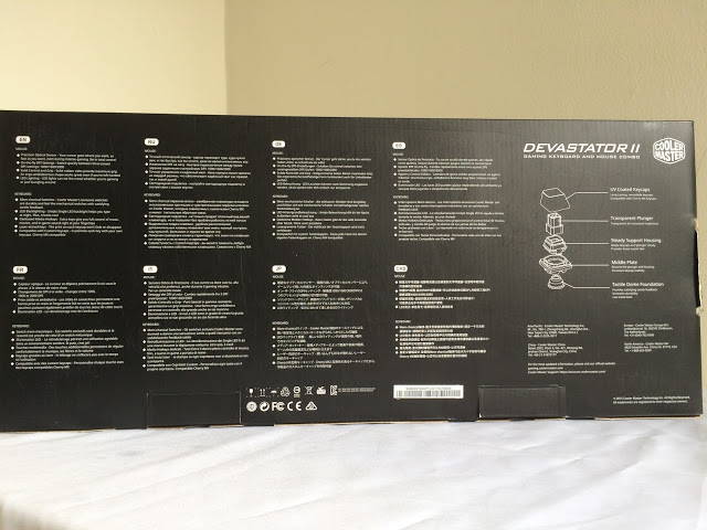 Unboxing & Review: Cooler Master Devastator II Gaming Keyboard and Mouse Combo 2
