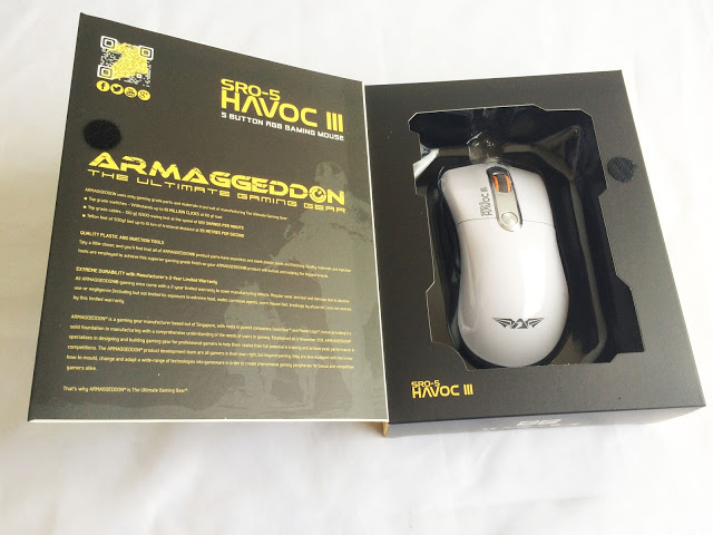 Unboxing & Review: Armaggeddon SRO-5 Havoc III Gaming Mouse 56
