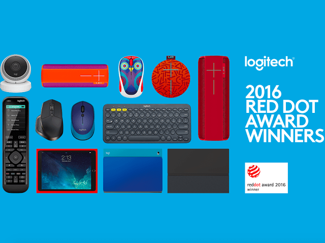 Logitech Breaks Company Record With Nine Red Dot 2016 Product Design