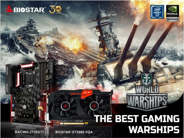 BIOSTAR Brings Naval Warfare to the Next Level for World of Warships 1