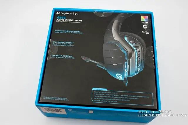 Unboxing & Review: Logitech G633 Artemis Spectrum 2