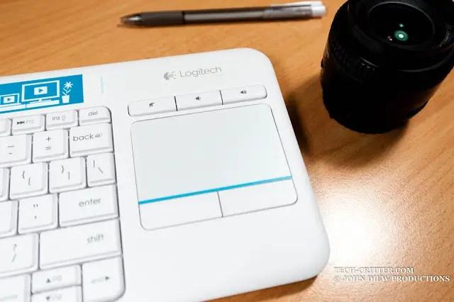Unboxing & Review: Logitech Wireless Touch Keyboard K400 Plus 61