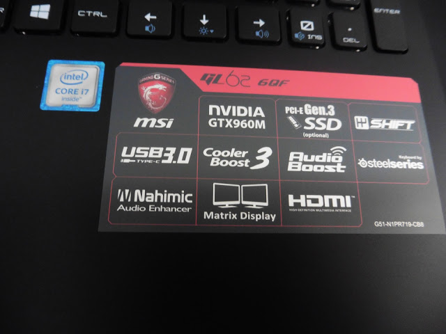 MSI Gaming GL62-6QF Gaming Notebook Review 88