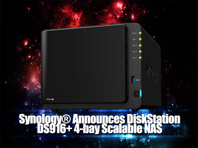 Synology® Announces DiskStation DS916+ 4-bay Scalable NAS Designed For Professionals and Growing Businesses 9