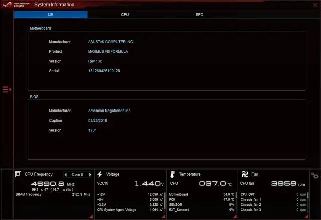 Unboxing & Review: ASUS ROG Maximus VIII Formula 129