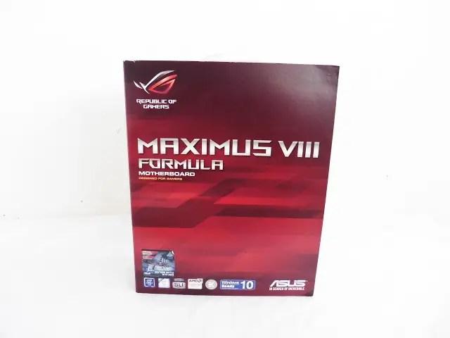 Unboxing & Review: ASUS ROG Maximus VIII Formula 94
