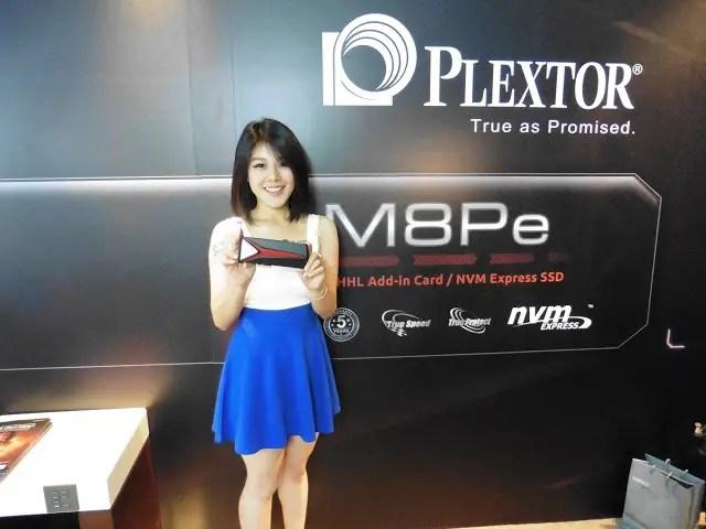 Computex 2016 Coverage: Plextor Showcases Its New M8Pe Series NVMe SSD, EX1 External SSD and EP2 U.2 SSD 9