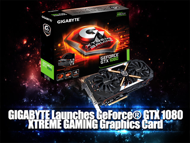 GIGABYTE Launches GeForce® GTX 1080 XTREME GAMING Graphics Card 13