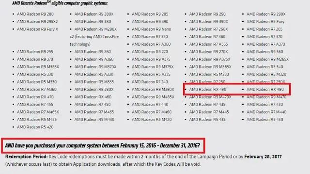 AMD Radeon RX 490 Hinted With 8GB GDDR5 Memory