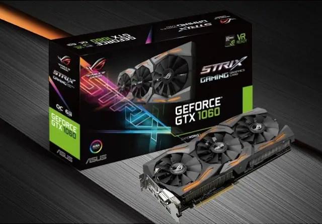 ASUS Republic of Gamers Announces Strix GeForce GTX 1060 Graphics Card 3