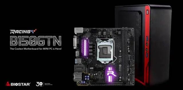 Biostar Announces The Racing Series B150GTN Mini-ITX Motherboard 11