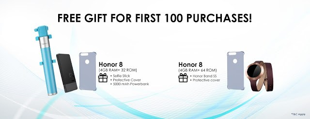 Get your Honor 8 on the 8th 1