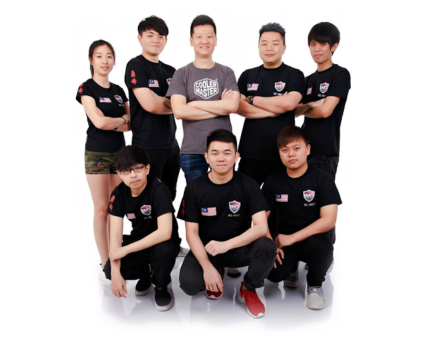 Cooler Master Announces Sponsorship of Warriors Gaming (WG.Unity), Malaysia Professional DotA 2 Team 9