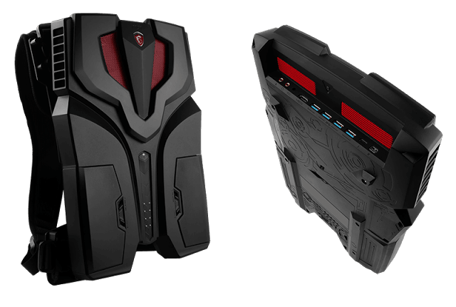 MSI VR One, World's First VR Backpack Make Its Debut In TGS 2016 10
