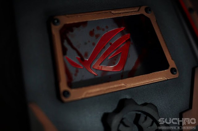 ASUS Republic of Gamers G752 Gaming Notebook Gears of War 4 Mod By Suchao Modding & Design 40