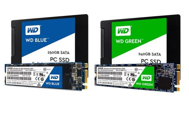 Western Digital Introduces WD Blue and WD Green Solid State Drives 3