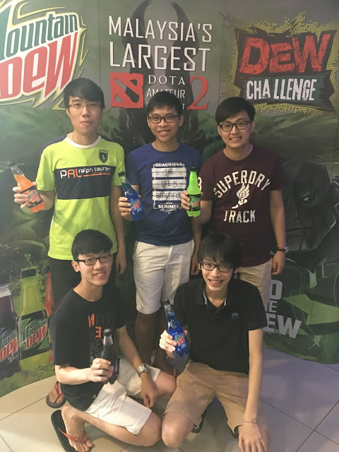 The Dew Challenge 2016 Takes the DoTA 2 and Mobile Gaming Challenge Enthusiasts in Kuala Lumpur 2
