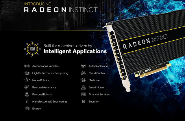 AMD Announces Radeon Instinct GPU Accelerator For AI and