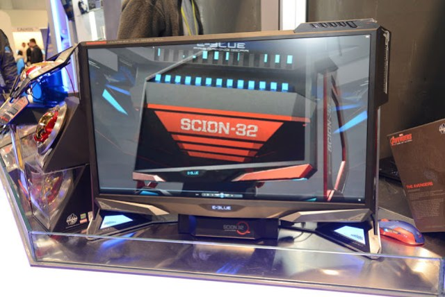 CES 2017: E-BLUE Begins Global Rollout of The World's First Hybrid-Tower Monitor plus the Flagship E-Sports Stadium at CES Aspiring to Cut the Edge of eSports Industry 9