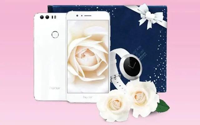 Honor 8 - A Pearl White Companion 1