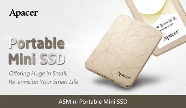 Apacer Announces The ASMini Pocket-Sized Portable SSD 3