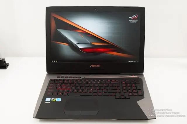 ASUS ROG G752VS Gaming Notebook Review 96