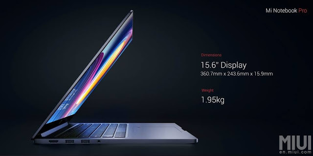 Xiaomi launches the Mi Notebook Pro 4