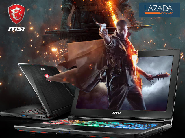 MSI Announces Promotion On Lazada's Electronics Fair With Discount Of Up To RM 1,300 1
