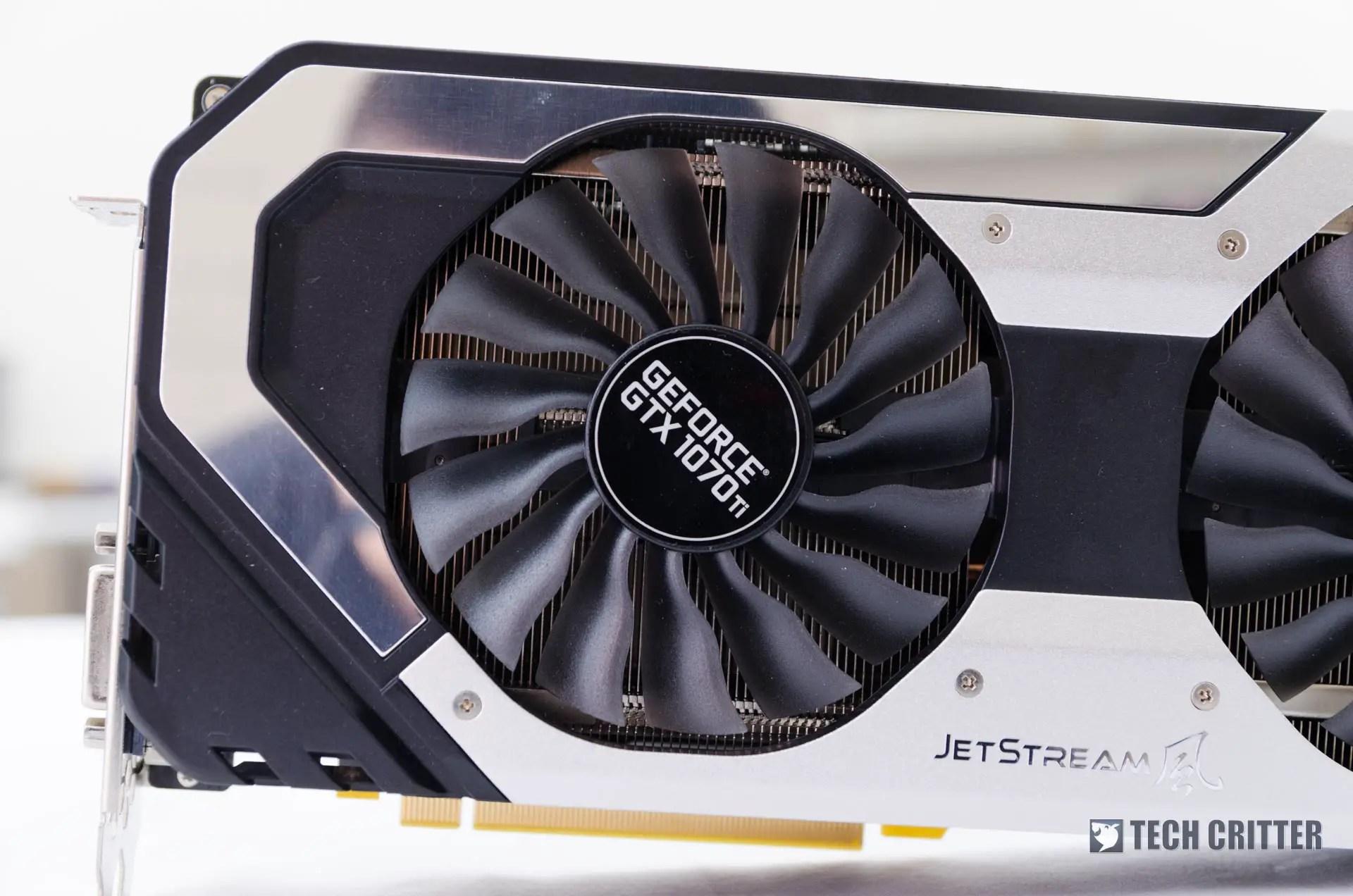 Review - Palit GeForce GTX 1070 Ti Super JetStream Edition