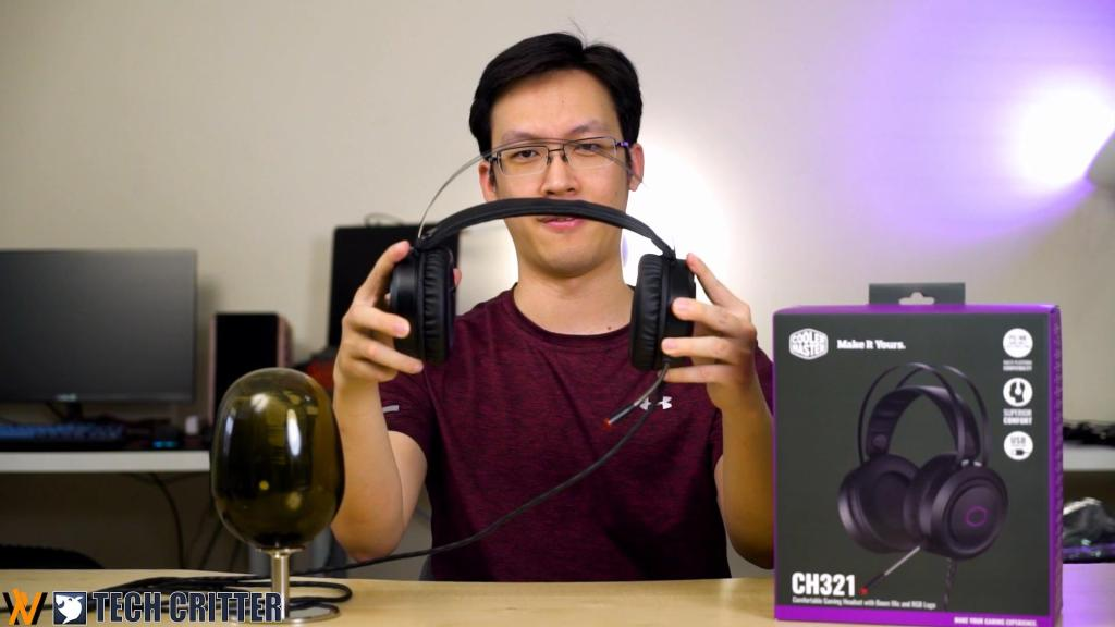 Review - Cooler Master CH321 Gaming Headphone 1