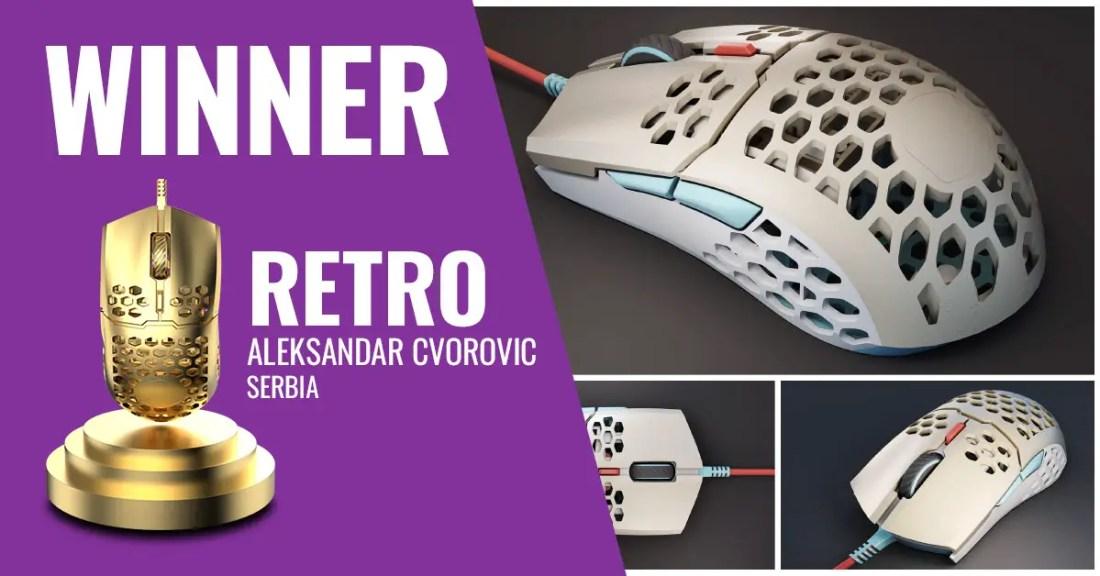 Cooler Master MM711 Design Challenge Retro Winner