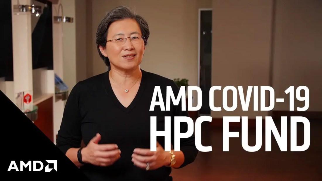 AMD COVID 19 HPC Fund Featured