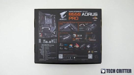Gigabyte B550 AORUS PRO 1