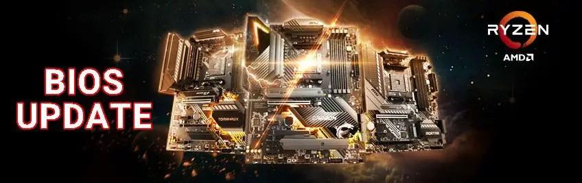 MSI BIOS Update AMD Ryzen 3000XT XT Series Processors 1