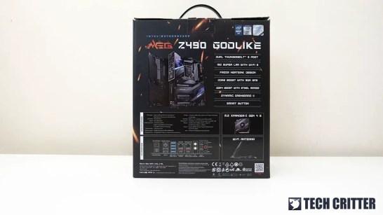 MSI MEG Z490 GODLIKE 3