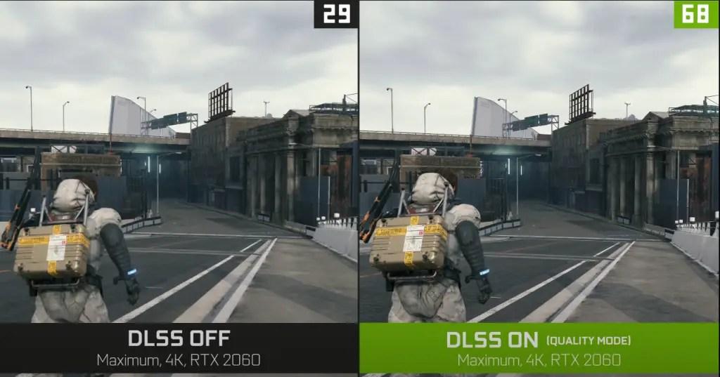Death Stranding NVIDIA DLSS 2.0 Comparison RTX 2060