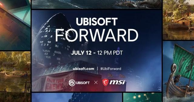 MSI X Ubisoft Forward 2020 Showcase