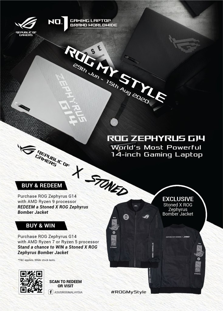 ROG x Stoned Promo