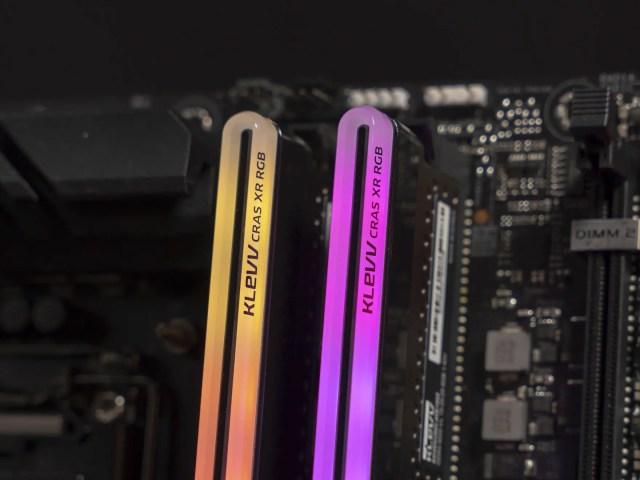 KLEVV CRAS XR RGB 6 new