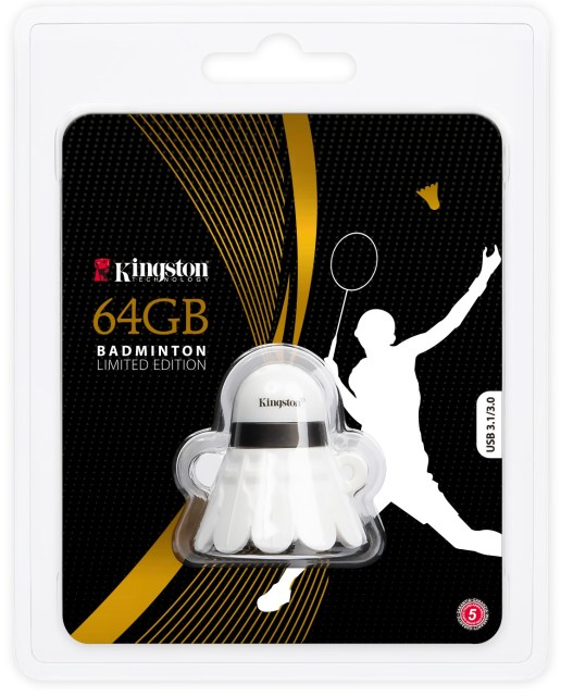 Kingston Limited Edition Badminton USB Drive Package