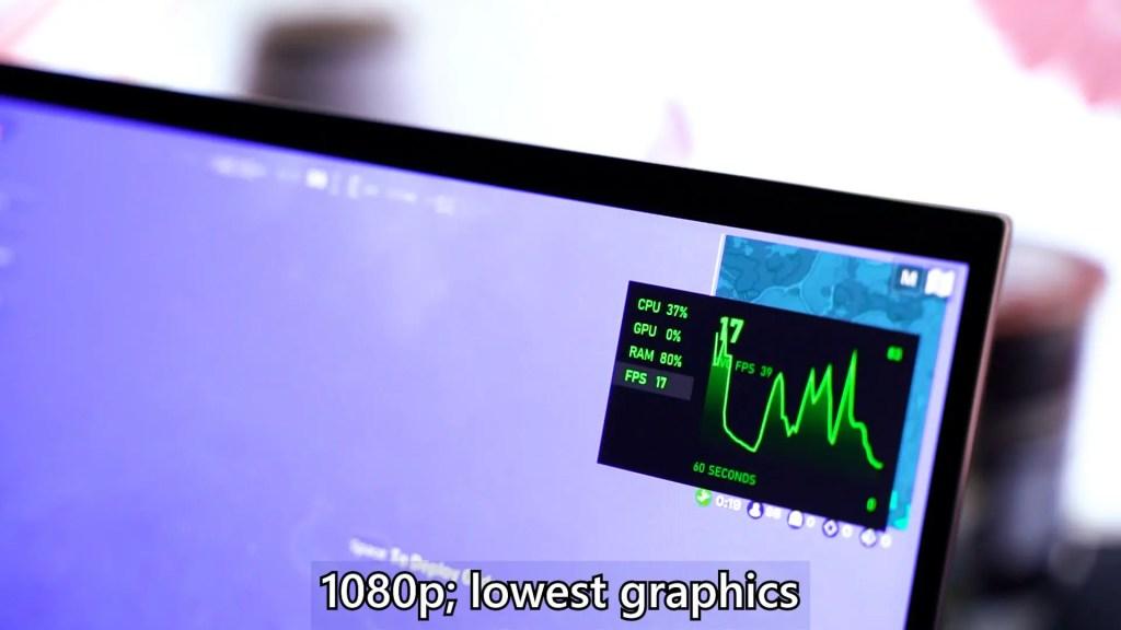 ASUS ZenBook Flip S UX371 Intel Core i7 1165G7 performance 3