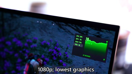 ASUS ZenBook Flip S UX371 Intel Core i7 1165G7 performance 6