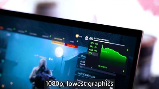 ASUS ZenBook Flip S UX371 Intel Core i7 1165G7 performance 7