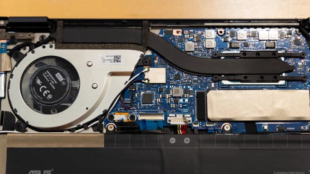 ASUS ZenBook Flip S UX371 Intel Core i7 1165G7 performance 9