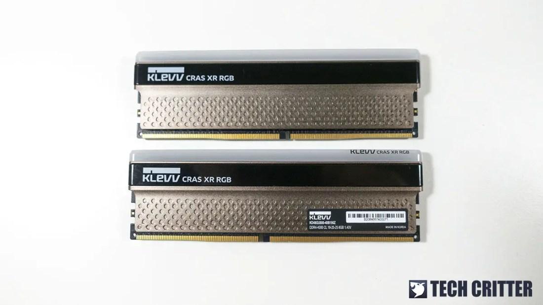 KLEVV CRAS XR RGB DDR4 4000 3